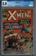 CGC 3.0 X-MEN #12 JUGGERNAUT 1ST APPEARANCE CR/OW PAGES 1965 JACK KIRBY