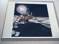 Apollo 14 Red # NASA 8X10 Photo of Lunar Module on the Moon