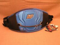 NP Surf Bomb Kite & Windsurfing Easy-Release Waist Harness X-Small Blue - New!