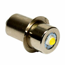 HQRP High Power LED Bulb 3W 100LM for Hitachi 318767 / UB18D, UB18DAL Flashlight