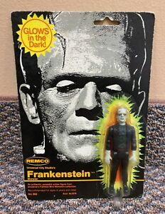 1980 Remco Frankenstein Glow In The Dark Vintage Universal Monsters Figure MOC