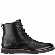 MEN'S TIMBERLAND* PRESTON HILLS* SIDE ZIP BOOTS COLOR~BLACK SIZE 10 M