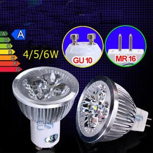 LED Leuchtmittel GU10/MR16 Energiespar-Lampe4/5/6 Watt Glüh-Birne Lampe Spots