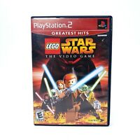 LEGO Star Wars: The Video Game (Sony PlayStation 2) PS2 Complete CIB Tested