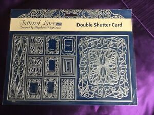 Tattered Lace Double Shutter Card