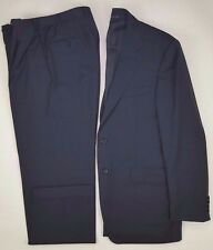 Canali Suit 40R Gray 2 Button Mens Wool Size Italy Regular Sz Lined Vented 13290