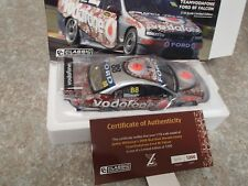 CLASSIC CARLECTABLES 1:18 FORD BF FALCON DARWIN 2008 RED DUST WHINCUP BRAND NEW