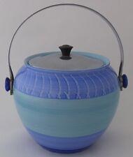 Stylish Shelley Harmony Biscuit Barrel - Art Deco Pottery