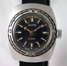 Vostok AMPHIBIAN Komandirskie Divers Watch 200m Water Resist Calibr 2209 USSR