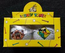 Vintage 1994 Looney Tunes Acme Golf Club Tazmanian Devil & Daffy Duck Golf Balls