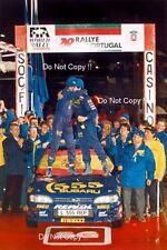 CARLOS SAINZ SUBARU IMPREZA 555 Winner Rally Portogallo fotografia 1995 4