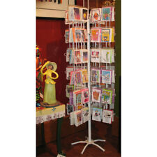 Greeting Card Display 96 Pocket Rack Spinner A2 4 7/8 wide Made In Usa Free Ship