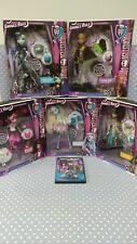 2012 Mattel Monster High - GHOULS RULE - (Lot of 5) NIB NRFB + Bonus DVD Movie