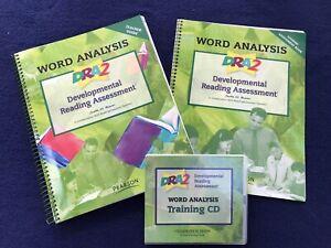 Developmental Reading Assessment K-3 Word Analysis Set