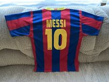 Producte Oficial Barca Barcelona Messi Shirt Number 10 Unicef