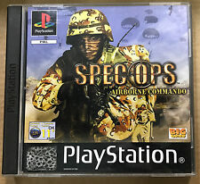 Spec Ops: Airborne Commando (Sony PlayStation 1, 2003)