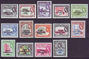 Guyana 1966 SC 9-19 MNH Set Independence
