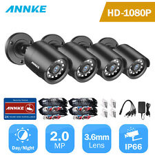ANNKE 1080P CCTV Camera Indoor Outdoor IR Home Security Surveillance System 4PCS
