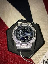 Casio G-Shock GA-110 1BER - Synthetische Diamanten - NEU*