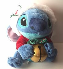 "Lilo & Stitch DISNEY Store Exclusive 12"" Plush Christmas Jingle Bell Holly"