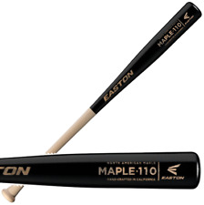"Easton North American Maple 110 34"" Adult Wood Baseball Bat A110204"