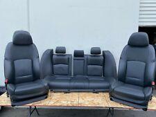BMW NAPA LEATHER SEATS HEATED AC MESSAGE SET MINT F10 550I 535I 528I (14-16) OEM