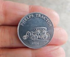 1901 Car Collection~~Antique Series 2~~Phelps Tractor Token Coin