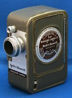 BELL & HOWELL 172 Magazine Vintage Movie Camera Super COMAT f/1.9 12mm Lens USA