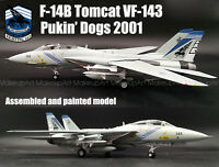 Easy model US F-14B Tomcat VFA-143 Pukin Dogs aircraft 1/72 no diecast plane