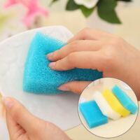 BE_ 2Pcs Sponge Cleaning Pads Brush Dish Pot Pan Washing Scrubber Pad Kitchen To