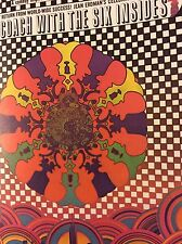 Rare Vintage Peter Max Psychedelic Theater Production Poster Print Wall Art pop