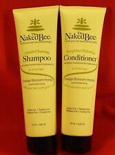 Naked Bee 1 ea 10 oz Gentle Shampoo / 10 oz Conditioner Orange Blossom Honey NEW