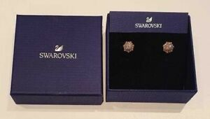 SWAROVSKI Crystal Sunshine Rose Gold Plated Stud Earrings 5459597