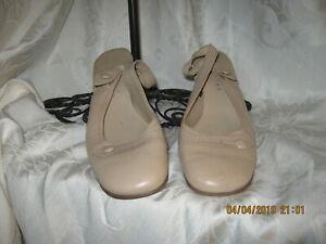 Nine West Beige Sling Back Shoes 6.5