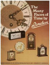1979 Cuckoo Clock Mfg Co - Lunden Clock Catalog