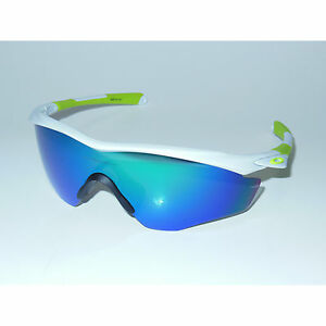 New Oakley M2 Frame XL Sunglasses Polished White/Jade Iridium Green Cycling USA