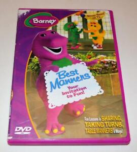 BARNEY: BEST MANNERS- YOUR INVITATION TO FUN DVD MOVIE