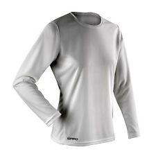 Spiro Ladies Performance T-Shirt Womens Long Sleeves Quick Dry Casual Tee Tops