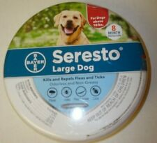 New listing Bayer Seresto Flea and Tick Collar for Large Dog 8 Month Protection Genuine De