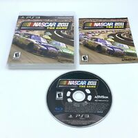 NASCAR The Game 2011 (Sony PlayStation 3, 2011) PS3 Complete With Manual CIB
