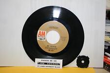"JOE COCKER Pardon Me Sir & St. James 7"" 45rpm  vinyl record & juke title strip"