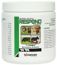 Agrilabs Respond Calf Bolus with Zymace, 6gm 50ct