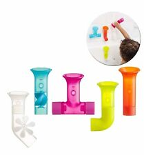 boon building bath pipes toy set of 5