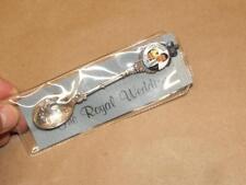 VTG 1981 Princess Diana Prince Charles Royal Wedding Silverplate Souvenir Spoon
