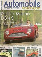 AUTOMOBILE HISTORIQUE 15 MINI COOPER & MONTE CARLO ISO RIVOLTA IR340 AM DB4 S