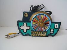 Wheel of Fortune Plug and Play Electronic Handheld TV Game Tested Works Jakks 05