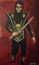 Skull Lord Ninja Child's Size Small 6 Complete Halloween Costume