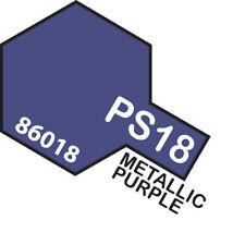 Tamiya Ps-18 Polycarbonate Spray 100ml Metallic Purple - 75-t86018