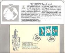 NEW HEBRIDES ( French ) # 278 25TH ANNIV. QUEEN ELIZABETH II CORONATION  FDC