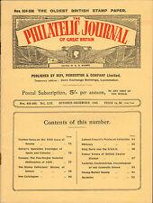 the philatelic journal of great britain . oct - december 1943